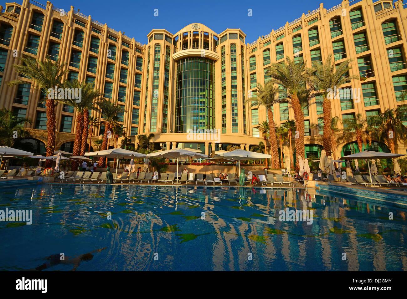 Hilton, Queen of Sheba Hotel, Eilat, Israel, - Stock Image