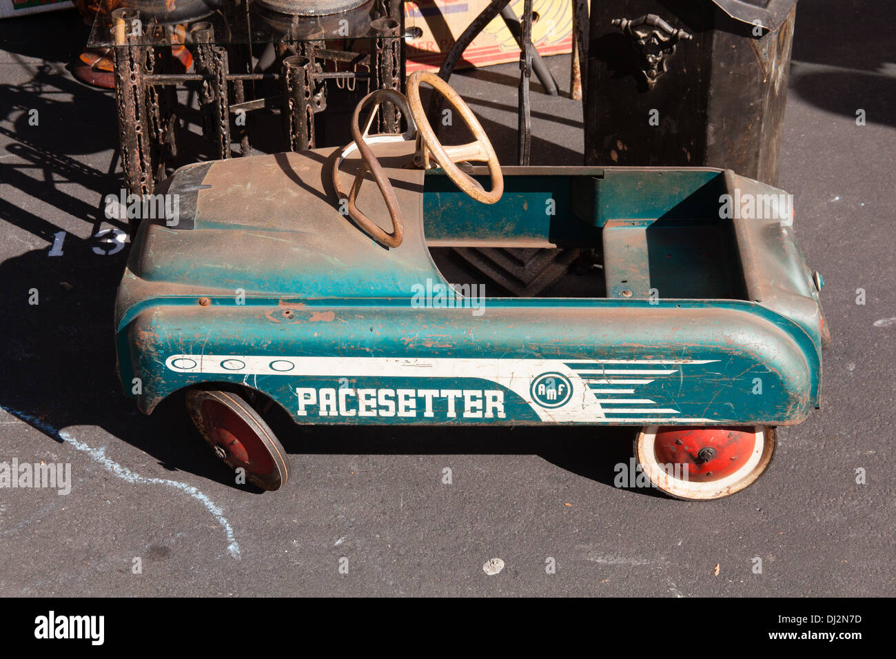 Antique Toy Pedal Car For Sale At GreenFlea Flea Market