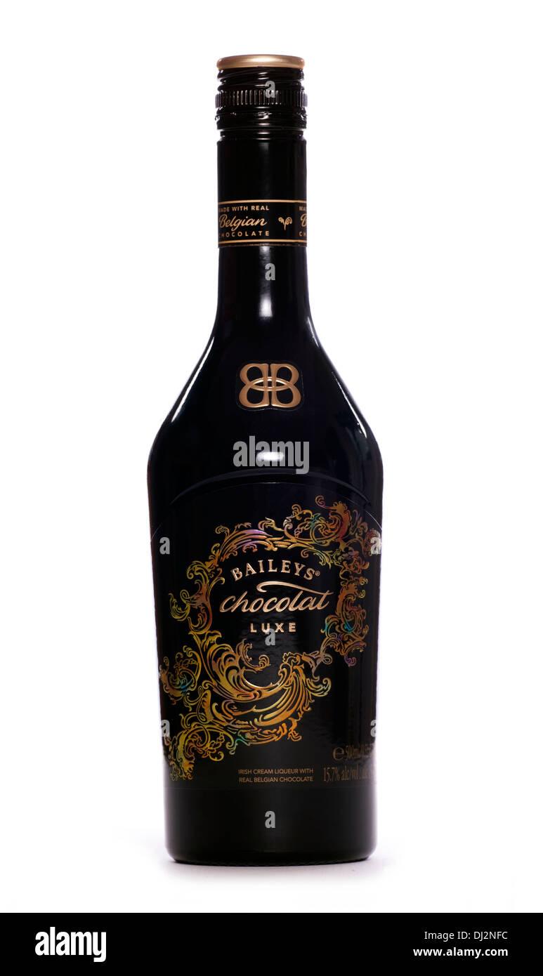 New Baileys chocolat luxe alchoholic drink cutout - Stock Image