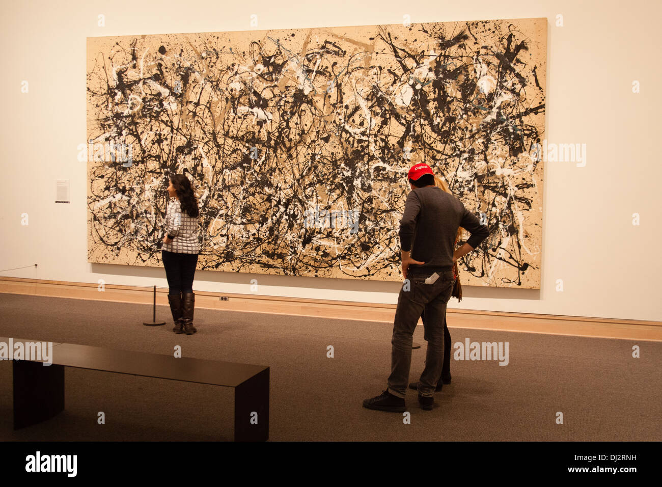 autumn rhythm number 30 by jackson pollock Autumn rhythm (number 30), by jackson pollock, american, 1912-1956, oil on canvas, 105 x 207, 1950 this is the official description of a large painting (approx 9' x 17') hanging in the metropolitan museum of art.
