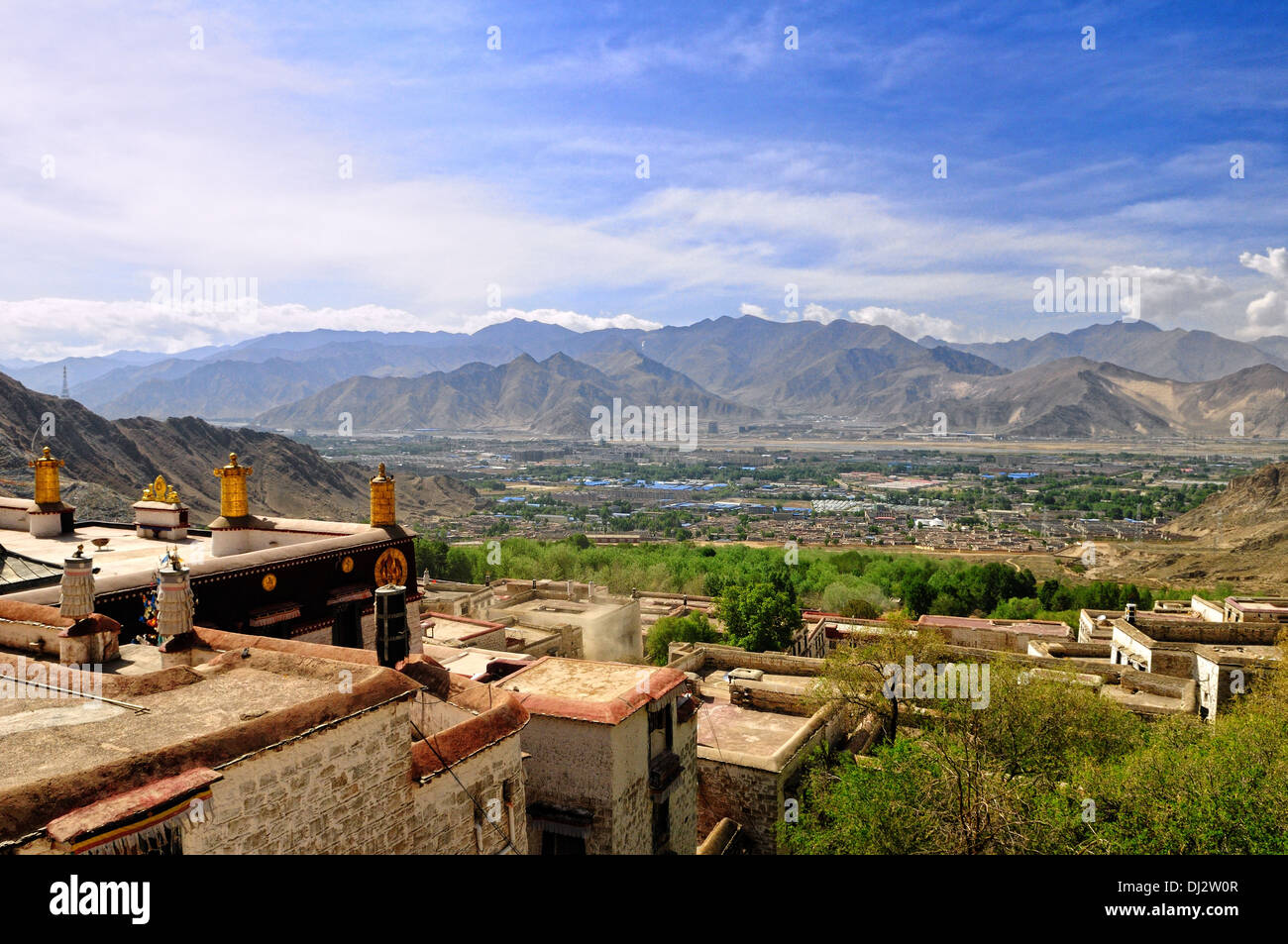 Lhasa Tibet China - Stock Image