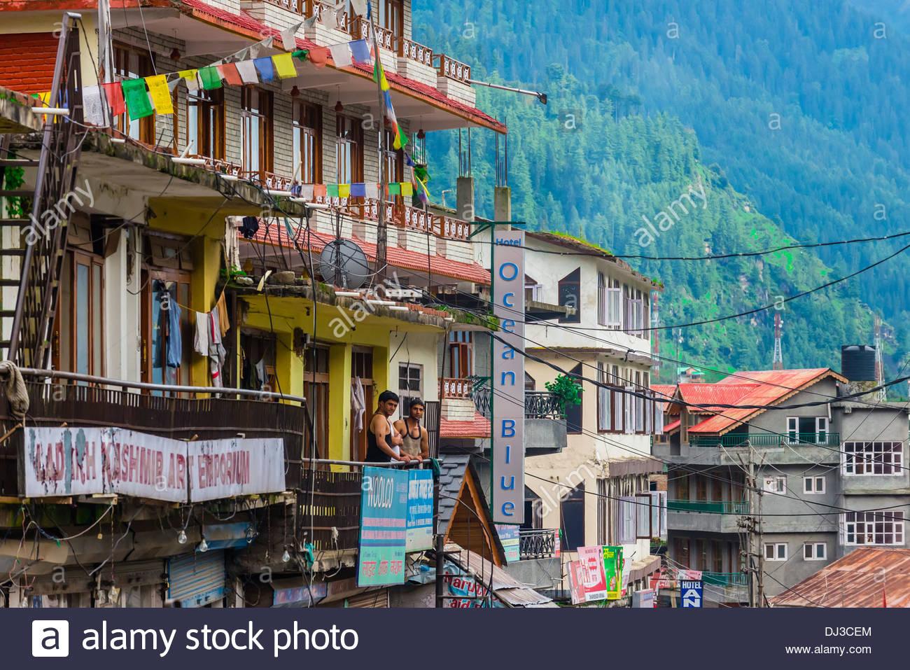 Manali, Himachal Pradesh, India. - Stock Image