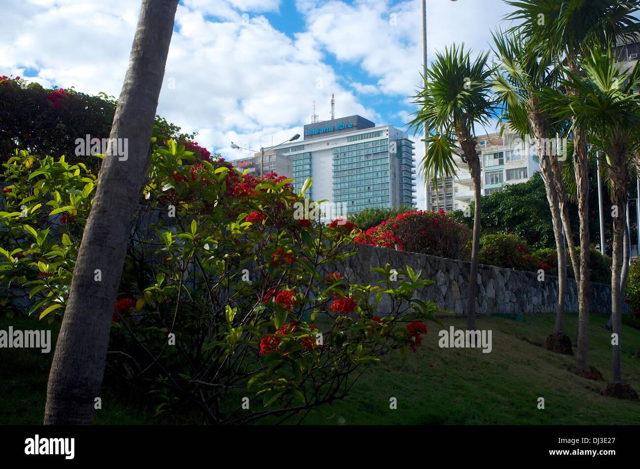 Hotel Cuba Libre, Havana, Cuba - Stock Image