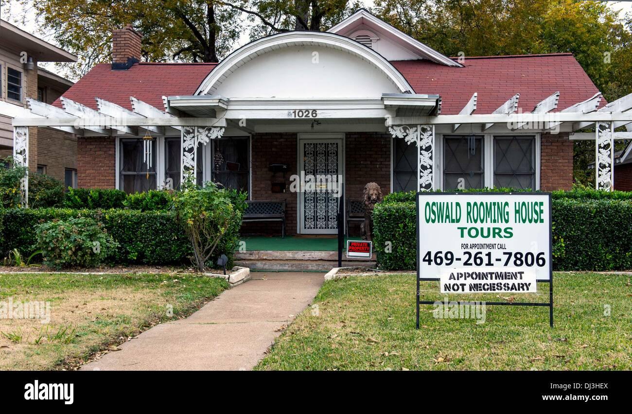 Dallas, Texas, USA  20th Nov, 2013  The house on Beckley