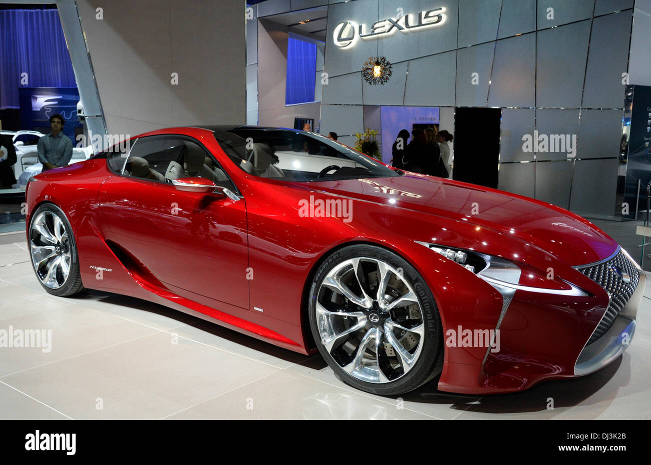 Lexus Los Angeles >> Los Angeles California Usa 20th Nov 2013 Lexus Lf Lc Hybrid