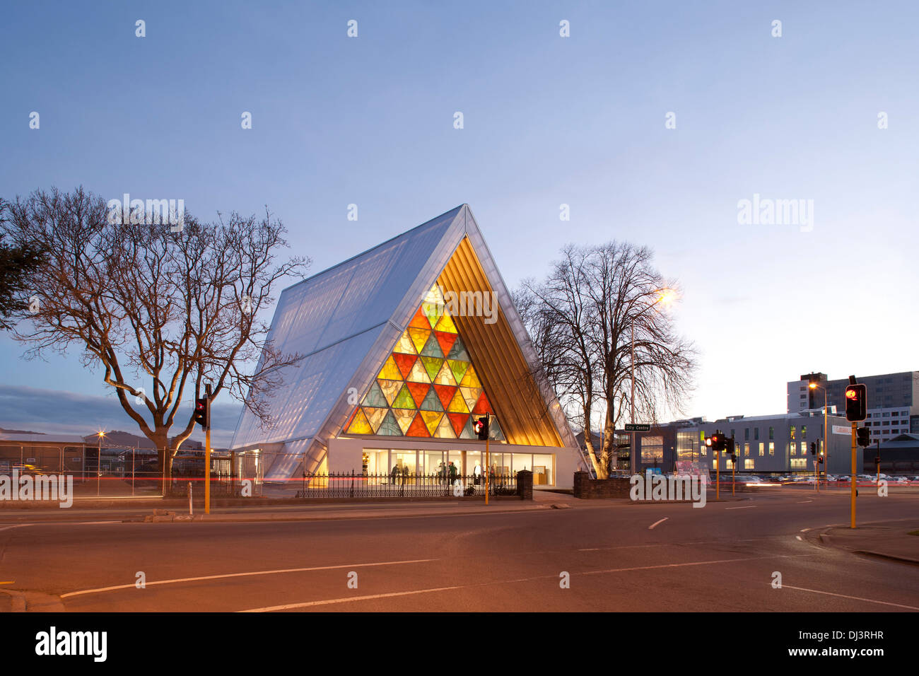 Christchurch News Photo: Transitional Cathedral, Cardboard Cathedral, Christchurch