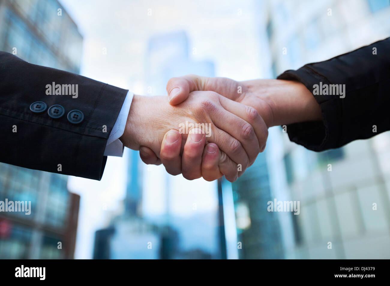 handshake - Stock Image