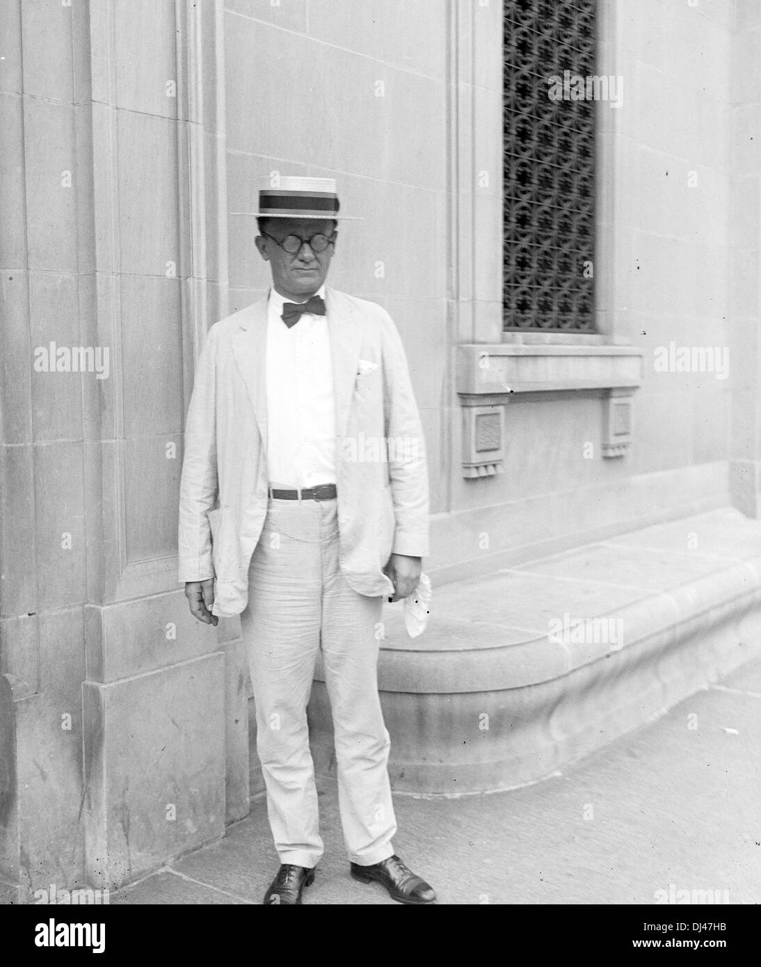 E.C. Yellowly, Chief of general prohibition agents - Stock Image