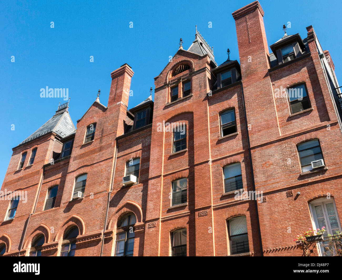 Talmud Torah Darchei Noam Day School, Lower East Side, NYC - Stock Image