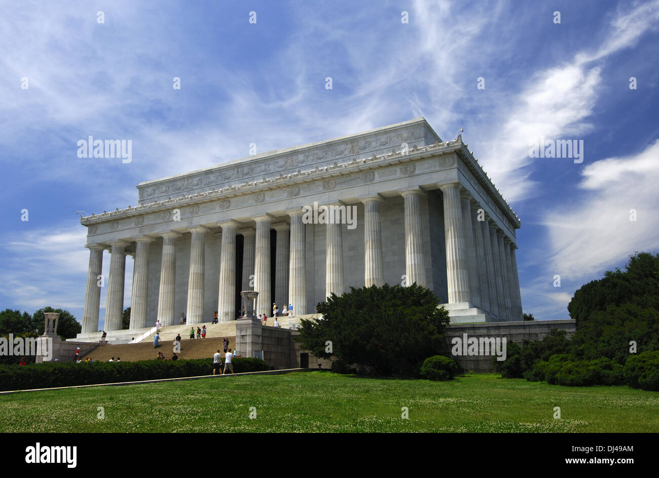 Lincoln Memorial, Washington D.C., USA Stock Photo