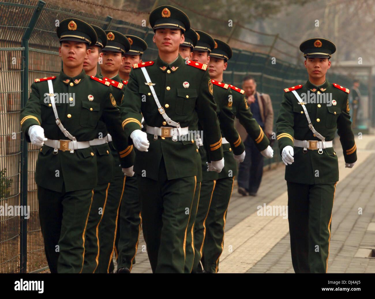 Army March Korea Stock Photos & Army March Korea Stock ...
