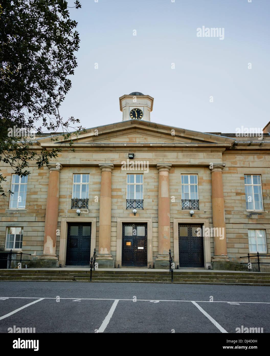 Durham Crown Court - Stock Image