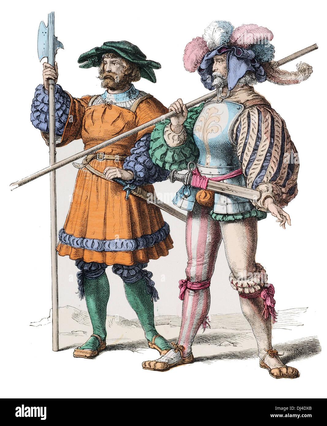 German 16th Century - Stock Image