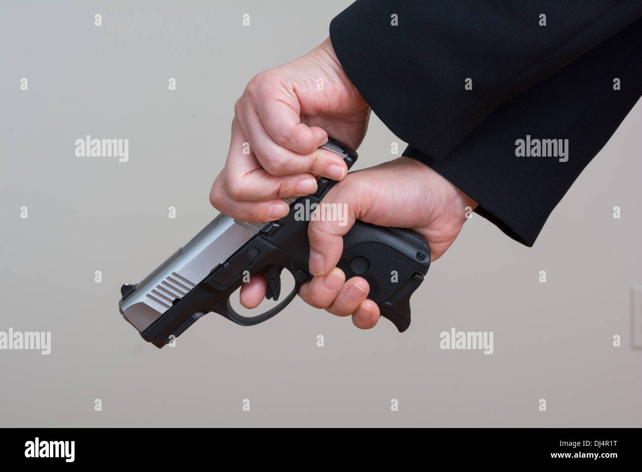 Cocking Gun Stock Photos & Cocking Gun Stock Images - Alamy