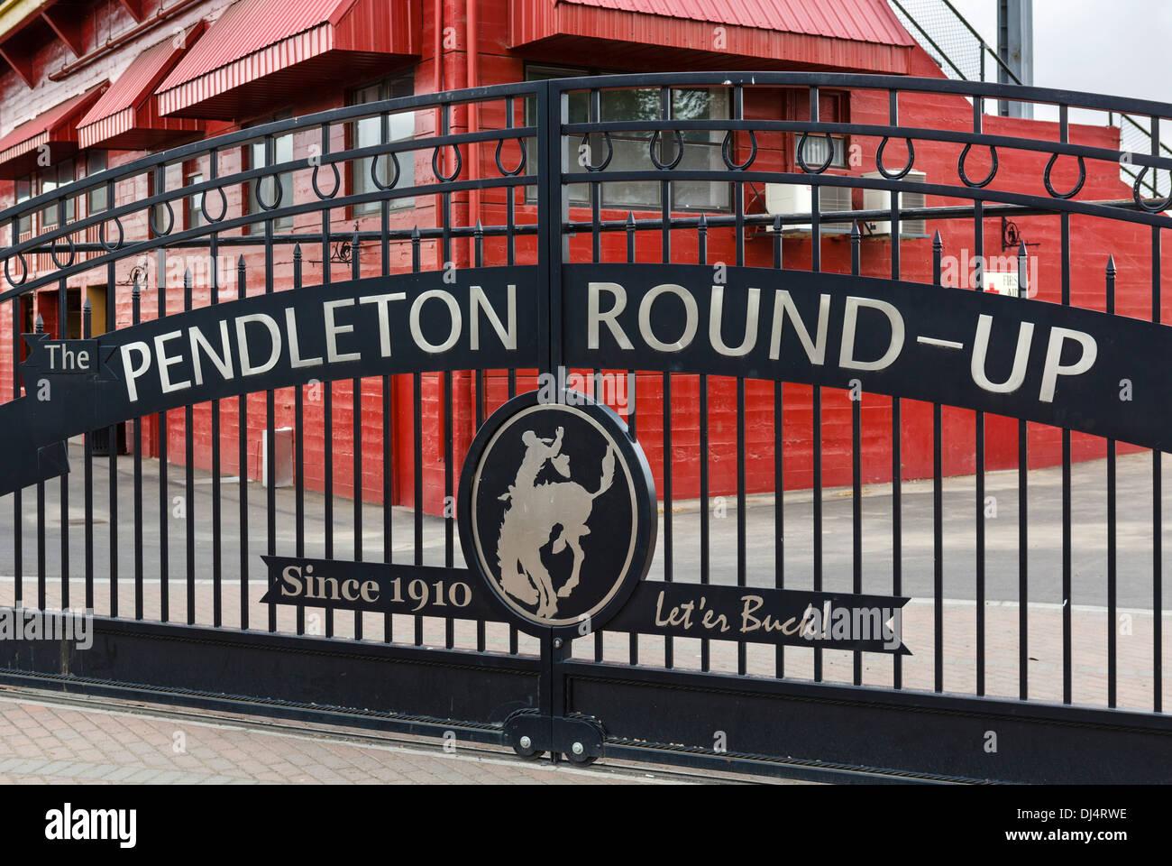 entrance to the pendleton round