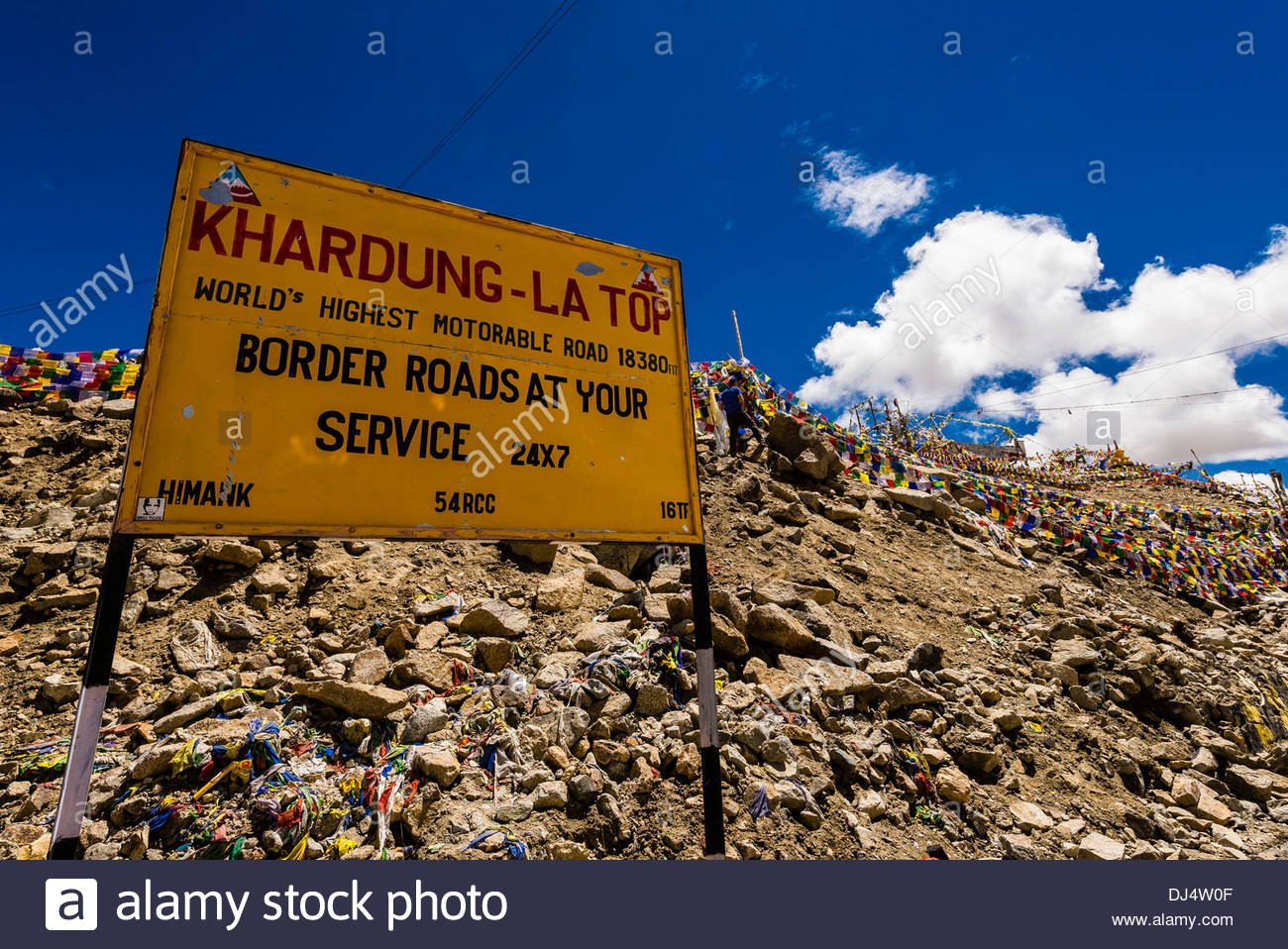 At 18,379 feet, the pass is the highest motorable road