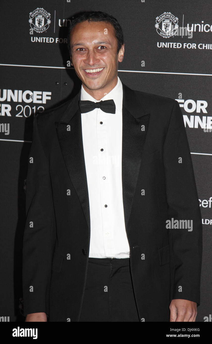Old Trafford, Manchester, UK.  21 Nov 2013.  Chris Bisson - Arrivals at the United for UNICEF Gala Dinner attended Stock Photo