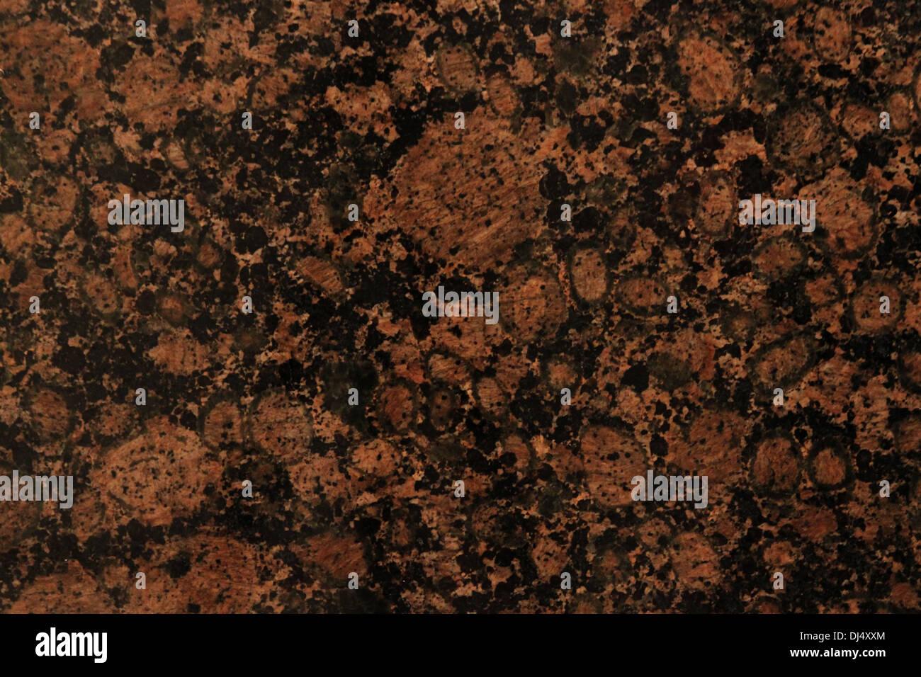 Polished granite background image - Stock Image