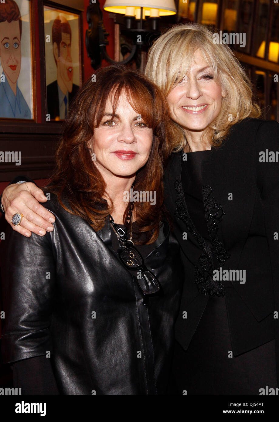 Stockard Channing and Judith Light Sardi's Portrait Unveiling held at Sardi's restaurant. New York City, - Stock Image
