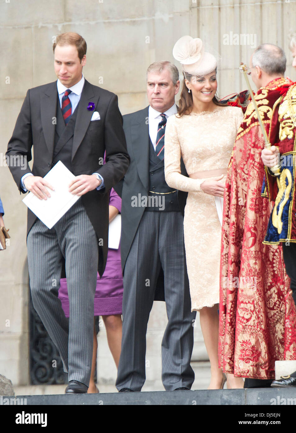 Prince Andrew Duke Of York Prince William Duke Of Cambridge And