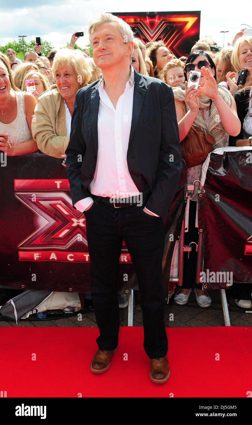 Louis Walsh 'The X Factor' auditions in Manchester