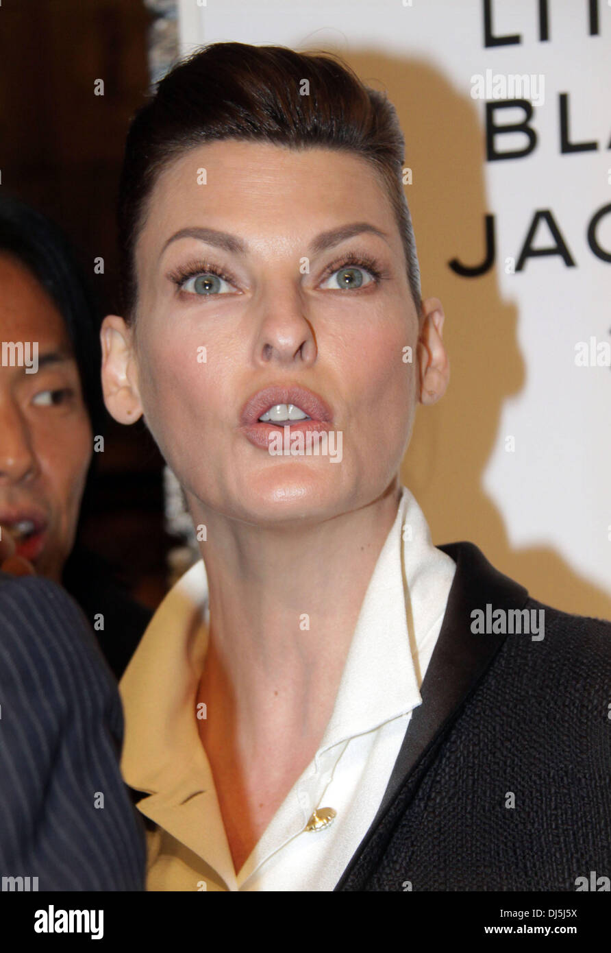 a79f23b16d6 Linda Evangelista Chanel's, The Little Black Jacket Event at the Swiss  Institute - arrivals Featuring: Linda Evangelista Where: New York City,  United States ...