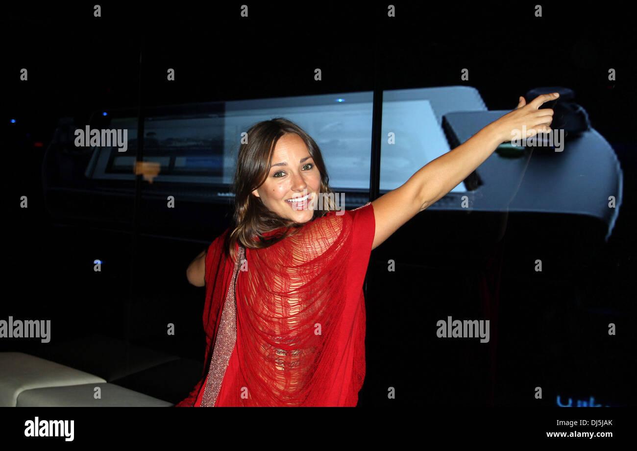 Briana Evigan Wikipad and Nvidia host E3 2012 VIP red carpet
