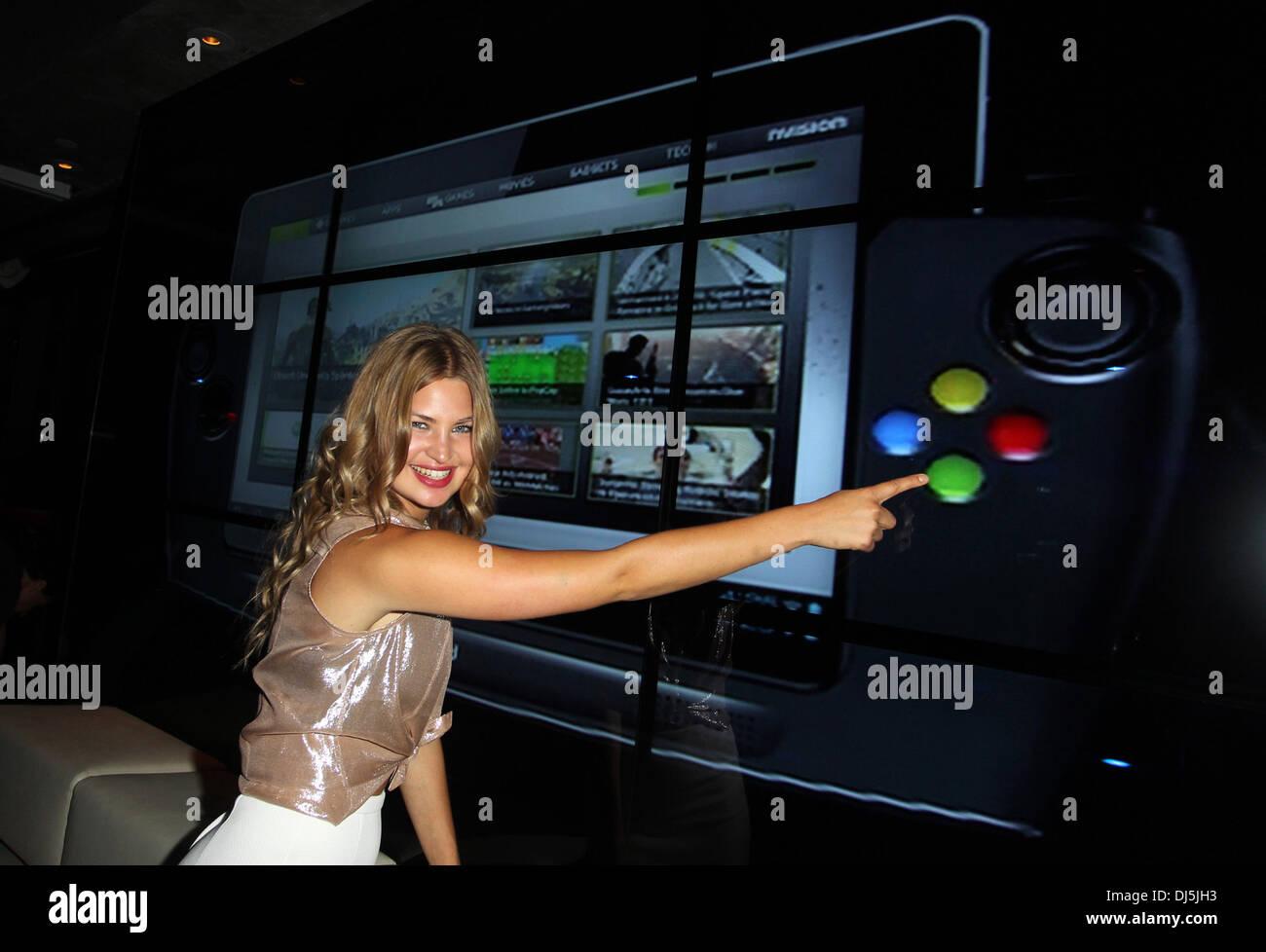 Jennifer Akerman Wikipad and Nvidia host E3 2012 VIP red