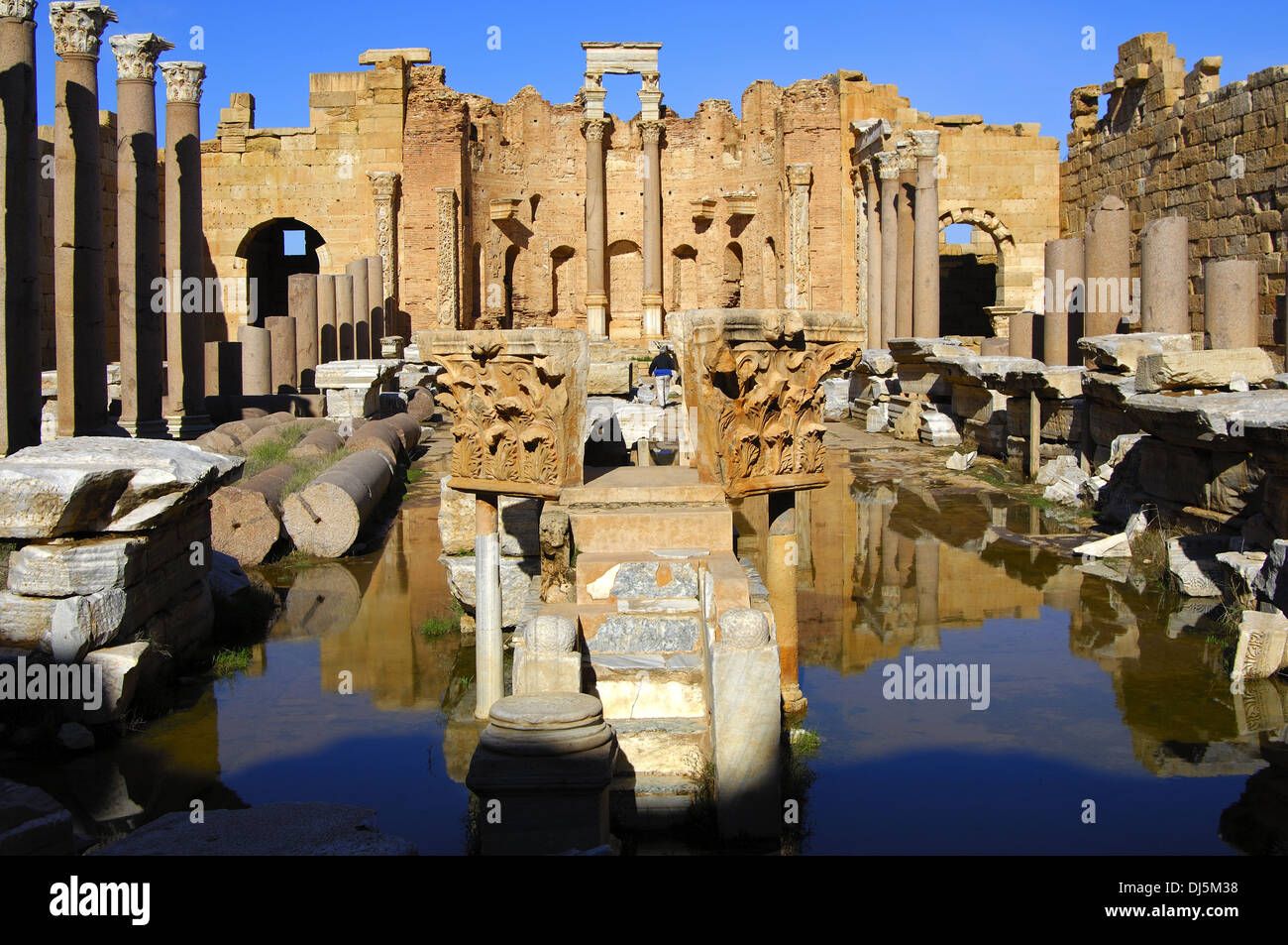 Severan Basilica, Lybia - Stock Image