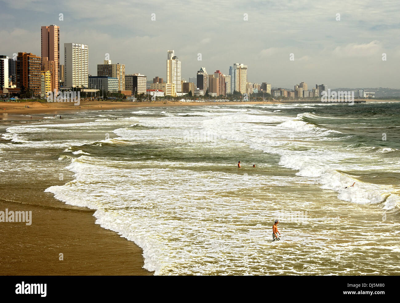 Golden Mile beach - Stock Image