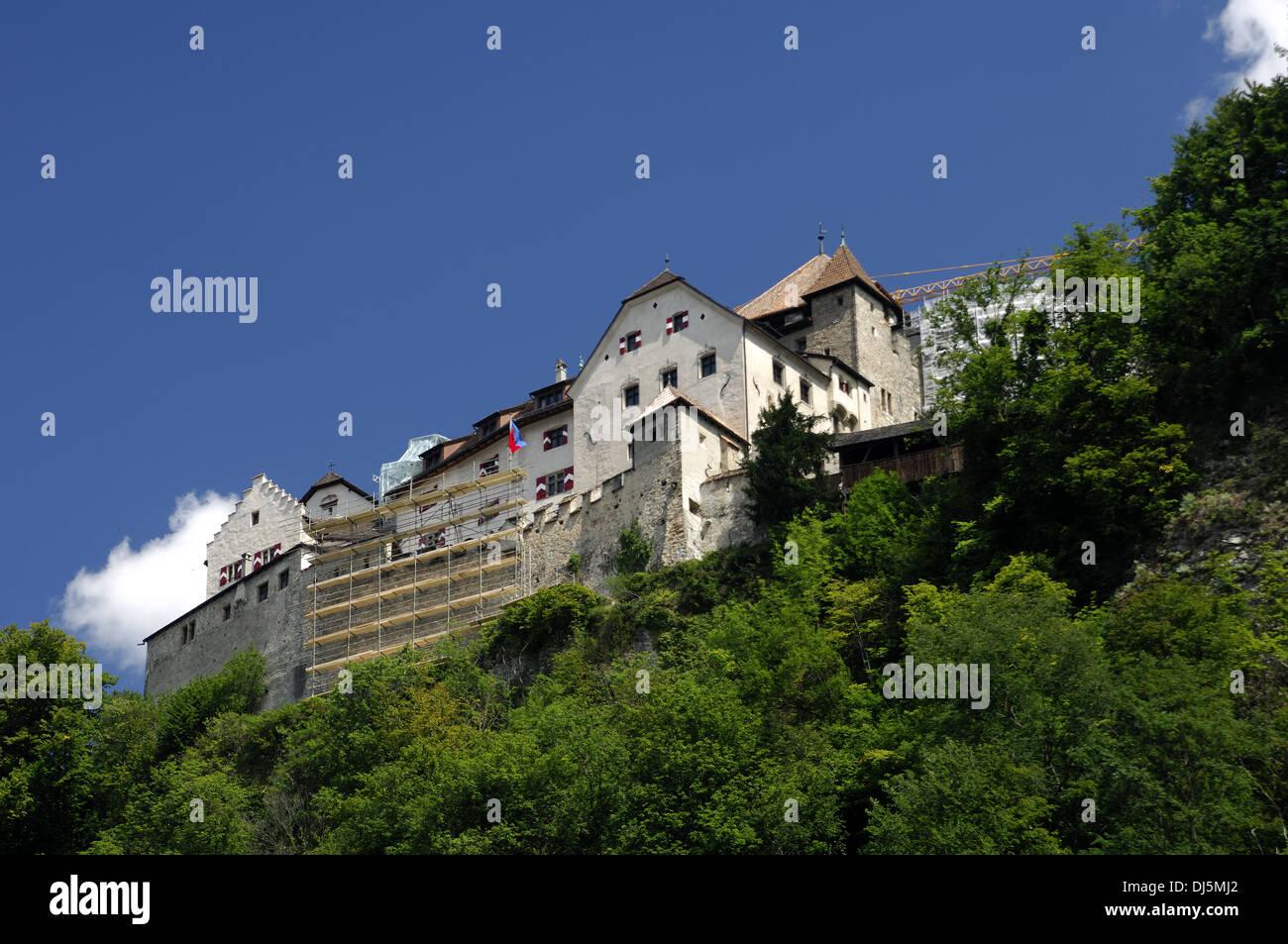 Castle of Vaduz, Liechtenstein Stock Photo
