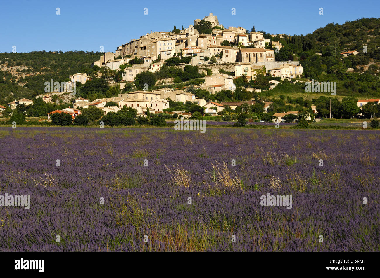 Banon, Provence, France Stock Photo