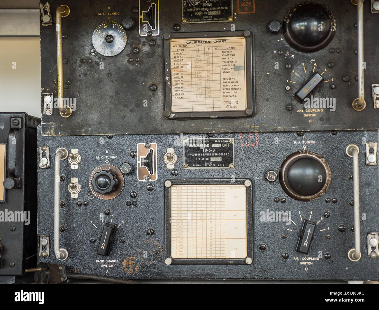 Radio Transmitter Vintage Stock Photos & Radio Transmitter