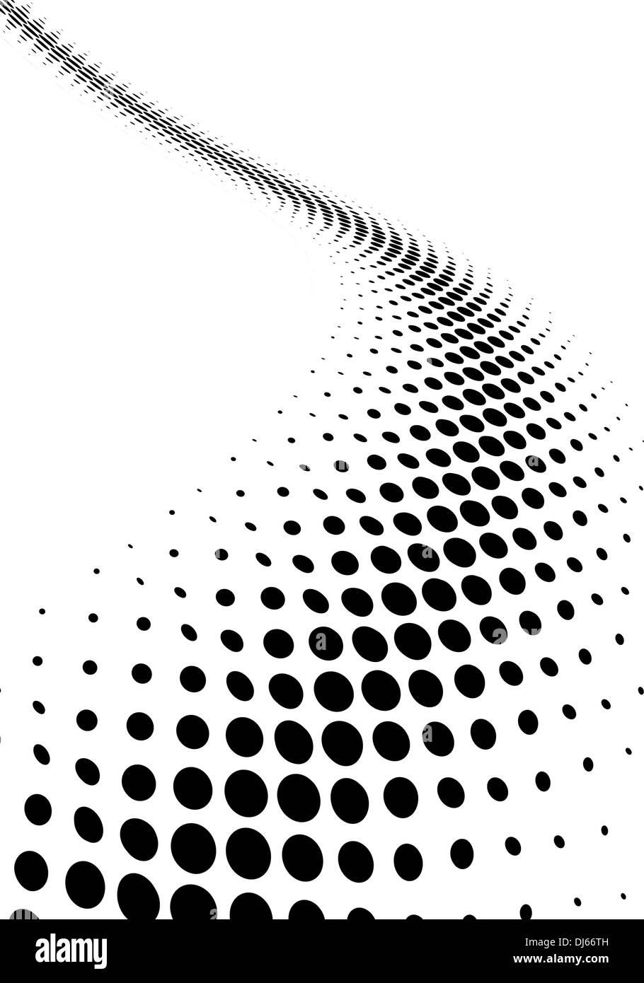 halftone background - Stock Image