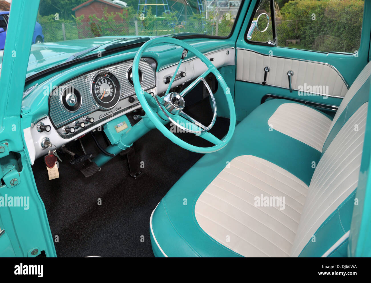 Ford F100 Stock Photos Images Alamy 1955 Truck Steering Wheels 1964 Classic American Pick Up Image