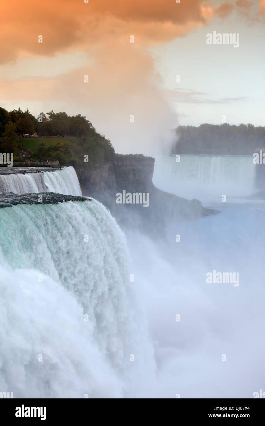 Niagara Falls, New York, USA - Stock Image