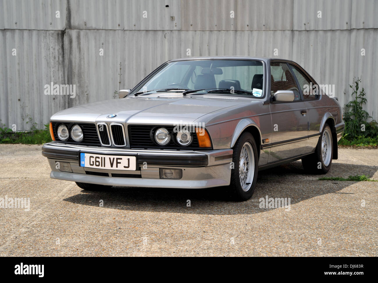 1990 Bmw 635 Csi Classic German Sports Coupe Car Stock Photo