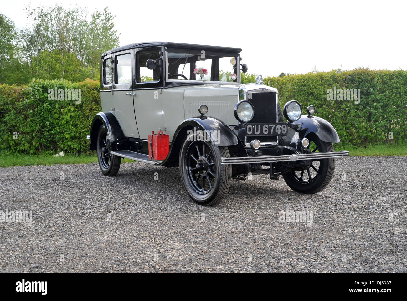 Morris Cowley Vintage British classic car of the 1920s and 30s - Stock Image