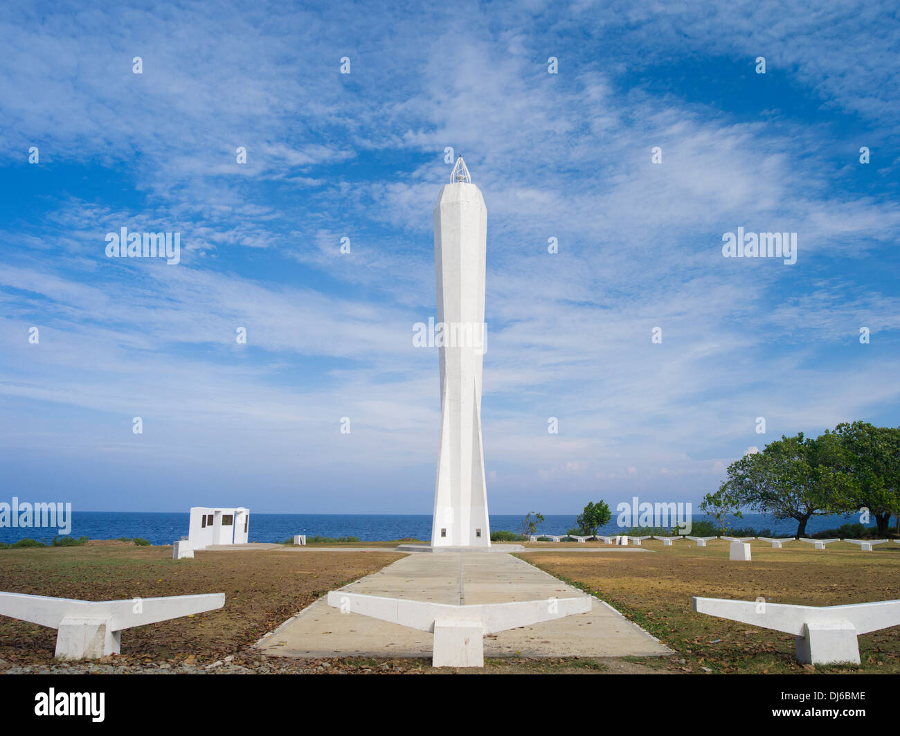 Coastwatchers Memorial Beacon, Madang, Papua New Guinea - Stock Image