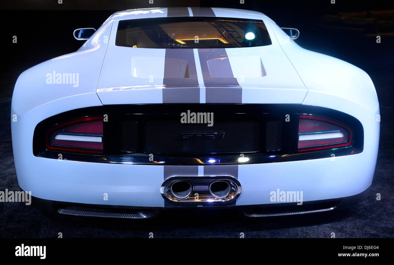 The galpin ford gtr 1 with 1024 hp on displays during the 2nd media day at the los angeles auto show photo by gene blevins la