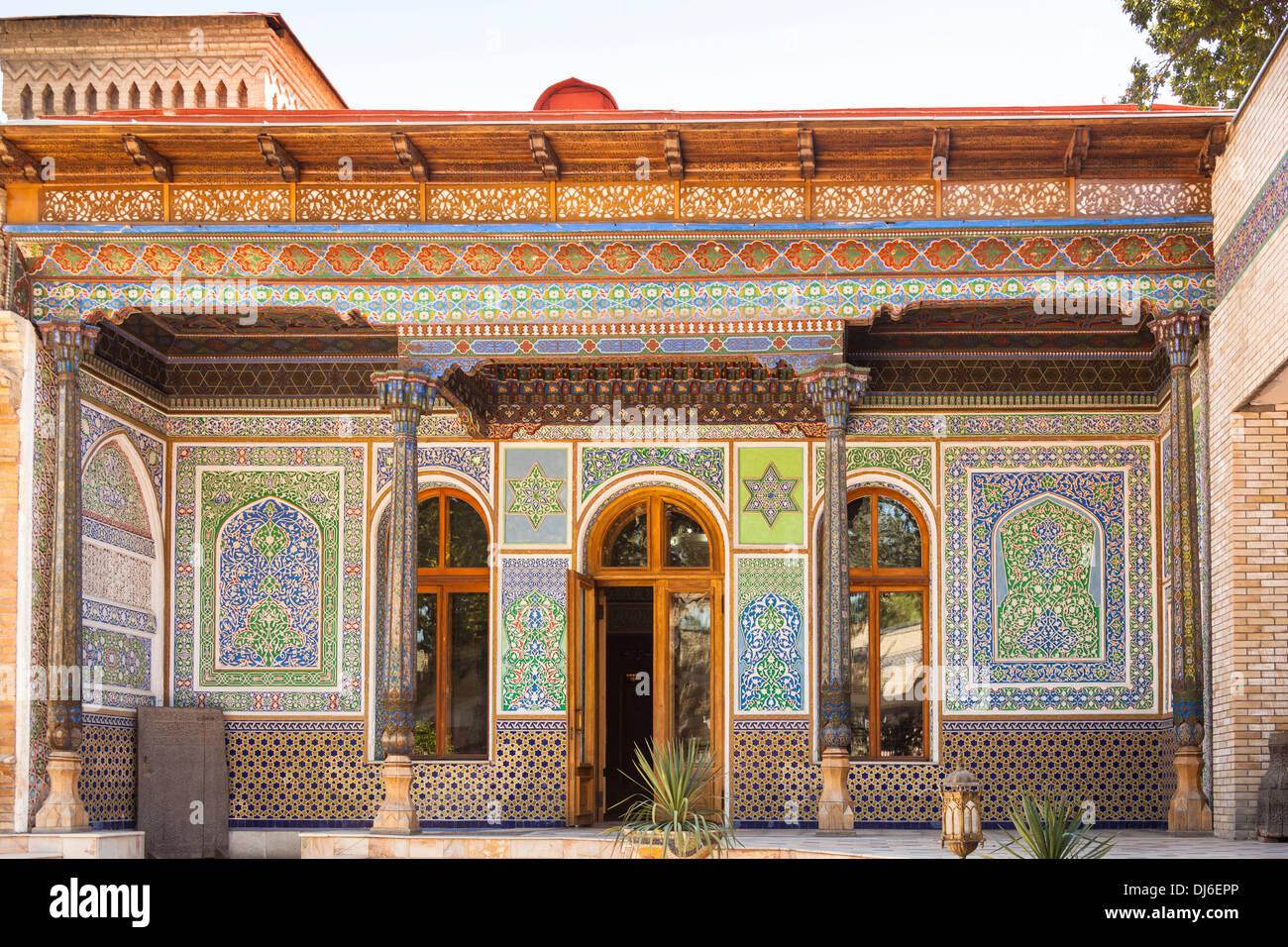House Of Alexander Polovtsev Museum Of Applied Arts Tashkent Stock Photo Alamy