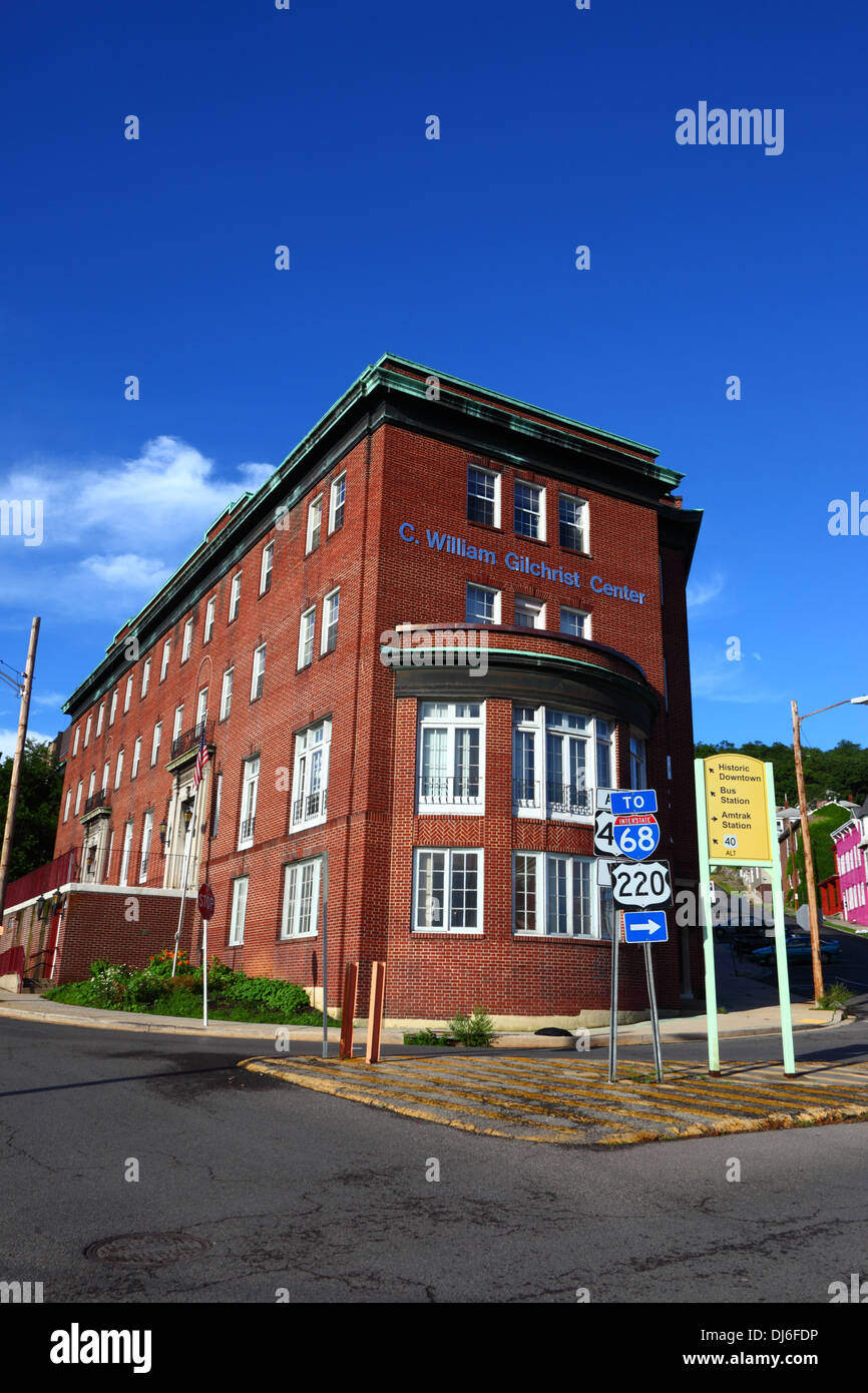 Cumberland YMCA building (C  William Gilchrist Center