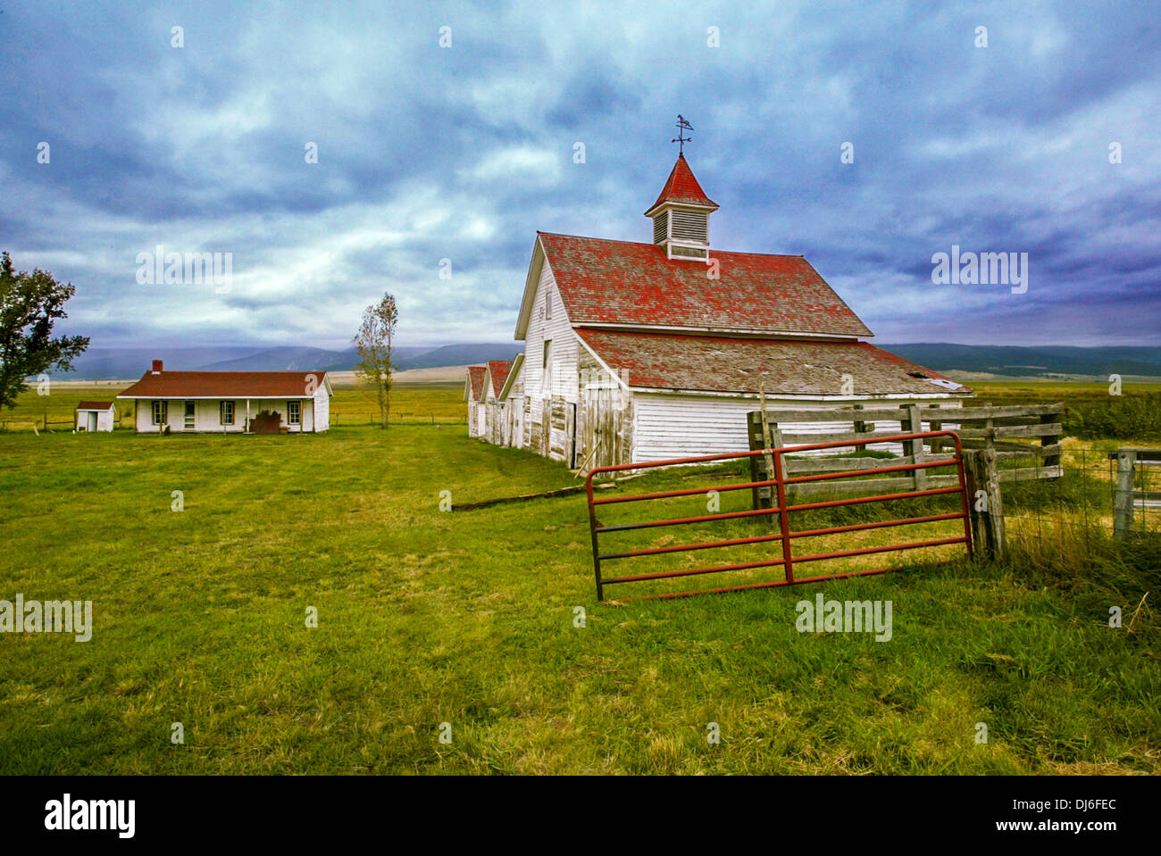 Beckwith Ranch - Stock Image