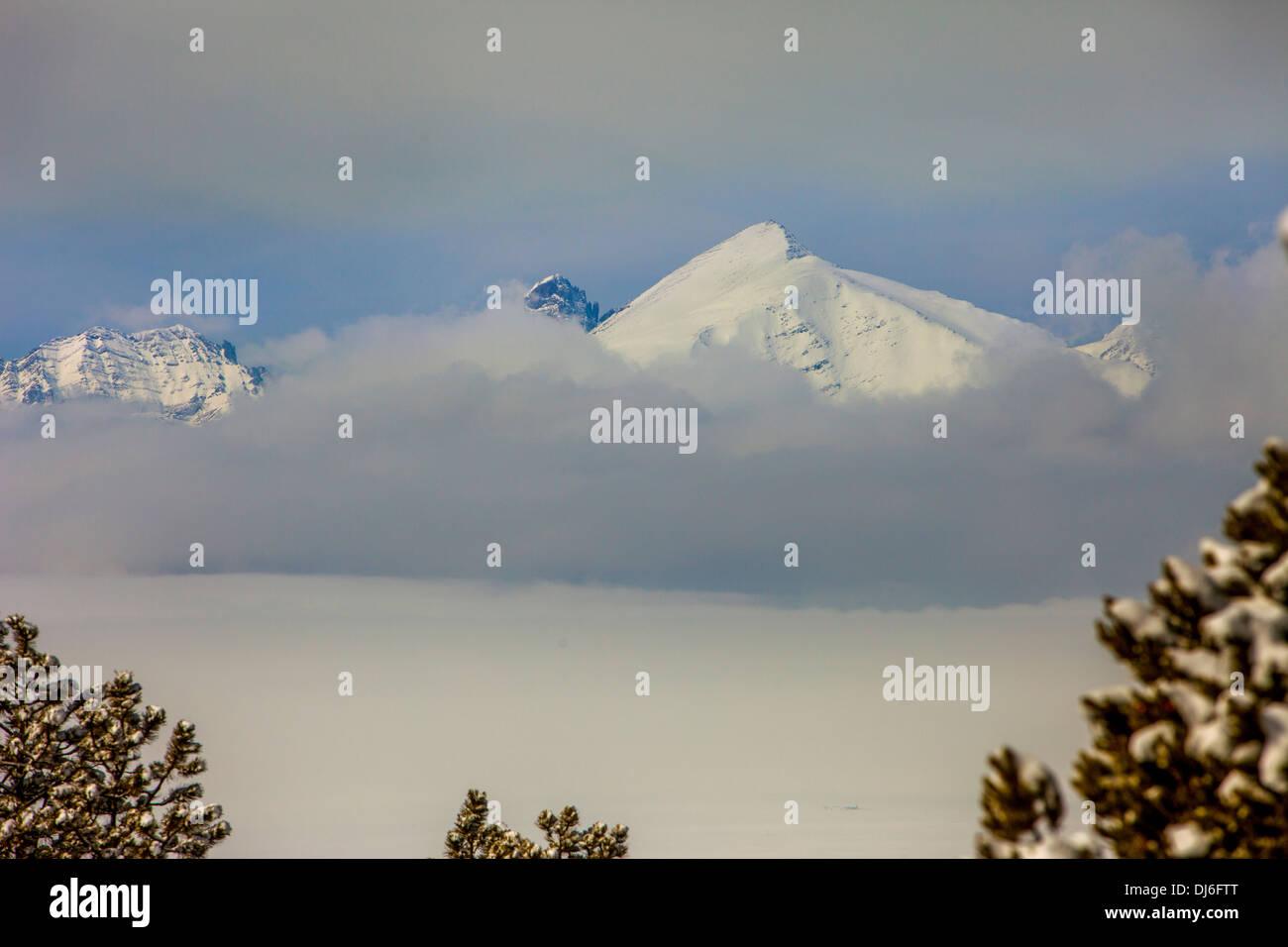 Winter in Colorado - Stock Image