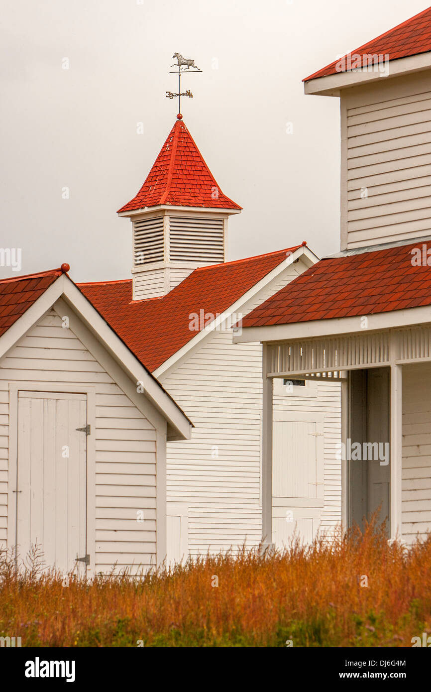 Beckwith Ranch in Westcliffe, CO - Stock Image