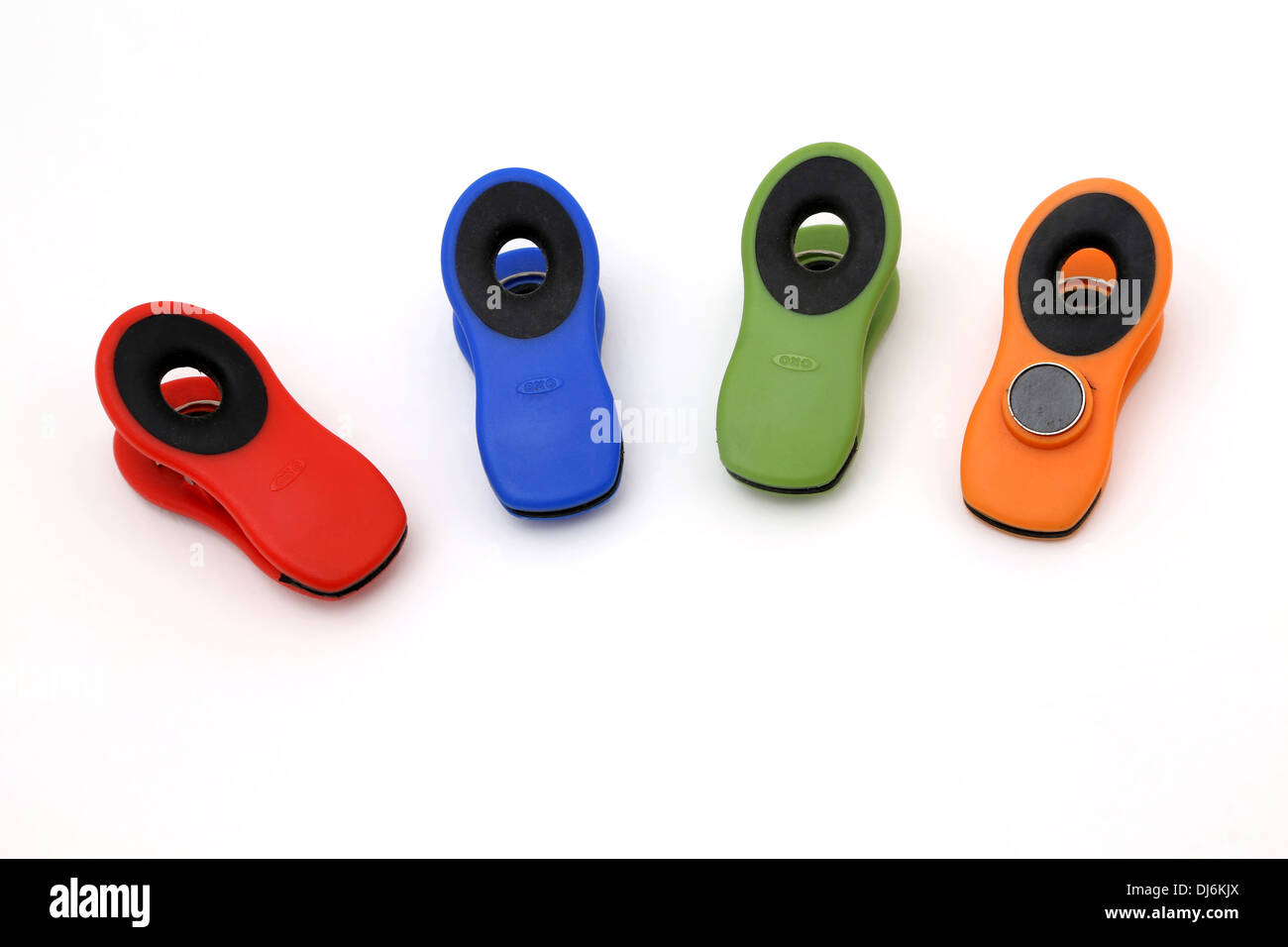 Colourful Magnetic Oxo Good Grips - Stock Image