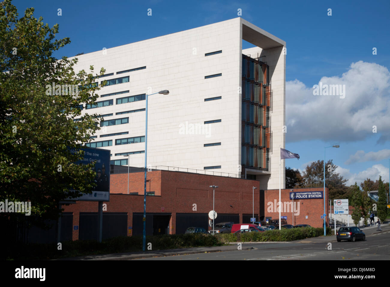 southampton central police station southampton hampshire england - Stock Image