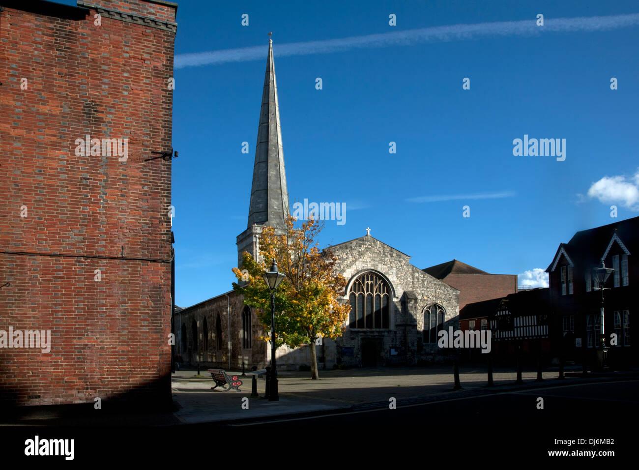 southampton old town hampshire england - Stock Image