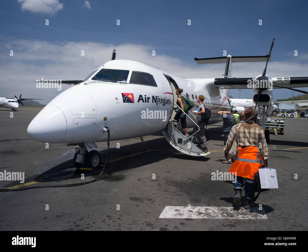 Air Nuigini Airlines Papua New Guinea - Stock Image