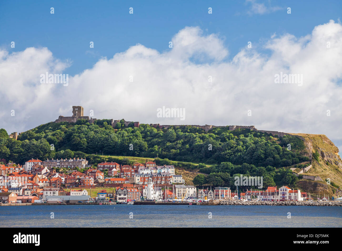 Scarborough, North Yorkshire. - Stock Image